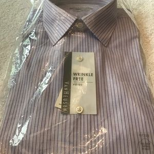 New mens dress shirt size 16 32/33 fitted fit